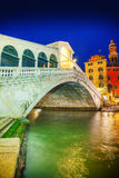 Rialto Bridge (Ponte Di Rialto) in Venice, Italy Royalty Free Stock Photos