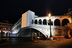Rialto bridge (Ponte di Rialto) in Venice, Italy Royalty Free Stock Photography