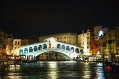 Rialto Bridge (Ponte Di Rialto) in Venice, Italy Stock Photography