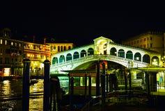 Rialto Bridge (Ponte Di Rialto) in Venice, Italy Royalty Free Stock Image