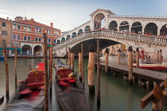 Rialto Bridge, Venice Stock Photo