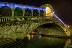Rialto Bridge in Venice Stock Photos