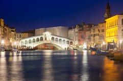 Rialto Bridge in Venice Stock Photography