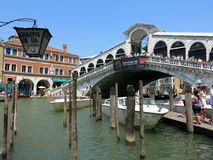 Rialto Bridge, Venice Royalty Free Stock Photography