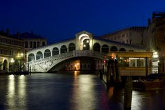 Rialto Bridge - Venice, Italy Stock Photos