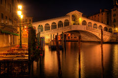 Rialto bridge in Venice Italy Royalty Free Stock Images