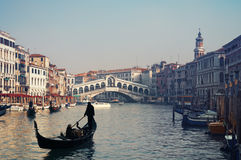 Rialto Bridge, Venice - Italy Stock Photography
