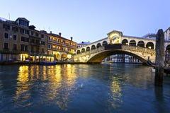 Rialto bridge, Venice, Italy. Stock Photo