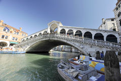 Rialto Bridge Stock Images