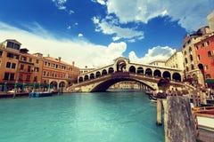 Rialto bridge in Venice Royalty Free Stock Photo