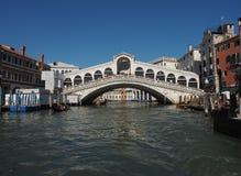Rialto Bridge in Venice Stock Photos