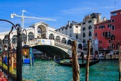 Rialto Bridge, Venice Royalty Free Stock Images