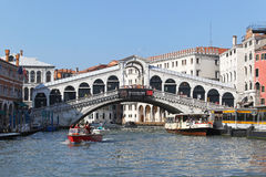 Rialto Bridge Venice Stock Image