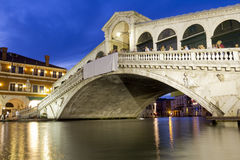Rialto Bridge Stock Photography