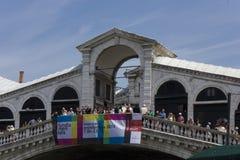 Rialto Bridge, Venice Stock Photo