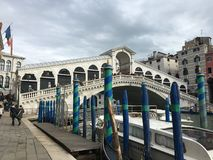 Rialto Bridge. Venice Italy Rialto Bridge Stock Photos