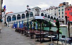 The Rialto Bridge, Venice, Italy Stock Photos