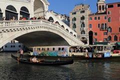 Rialto bridge in Venice, Italy royalty free stock images