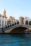 Rialto bridge, Venice, Italy Stock Image