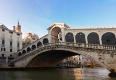 Rialto bridge, Venice, Italy Royalty Free Stock Photos
