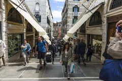 Rialto Bridge in Venice. royalty free stock photo