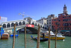 Rialto bridge Venice Royalty Free Stock Photography