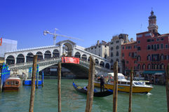 Rialto Bridge,Venice Stock Images