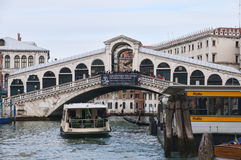 Rialto bridge in Venice Royalty Free Stock Photos
