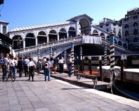 Rialto Bridge, Venice. Stock Photography