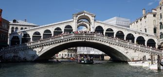 Rialto Bridge Venice Stock Photography