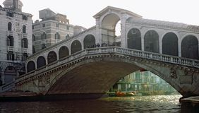 Rialto bridge at Venice Stock Images