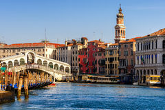 Rialto Bridge view Royalty Free Stock Images