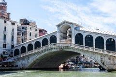 Rialto bro Ponte di Rialto Arkivbild