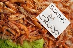 Rialto Fischmarkt lizenzfreie stockbilder
