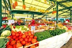 Rialto Italiaanse markt in Venetië, Italië Stock Fotografie