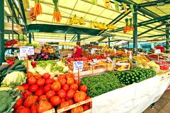Rialto Italian market in Venice, Italy Stock Photography