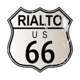 Rialto Route 66 illustration libre de droits
