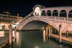 The Rialto`s Bridge in Venice Italy royalty free stock photo