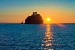 Rialto strand på den olympiska nationalparken Fotografering för Bildbyråer