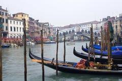 Rialto van Ponte in Venetië royalty-vrije stock afbeeldingen