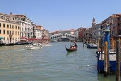 Rialto Venecia Foto de archivo libre de regalías