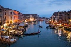 Rialto Venedig Arkivbild
