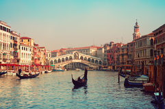 rialto venice Италии моста Стоковое Фото