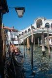 rialto venice Италии моста Грандиозный канал Стоковая Фотография