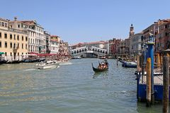Rialto Venice Royalty Free Stock Photo