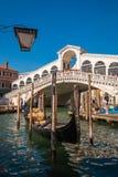 rialto venice ponte стоковая фотография