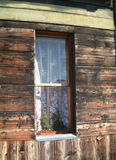 Rialto window. Window on Rialto Bridge, Venice royalty free stock photos
