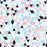 Riangle Naadloze Achtergrond met Driehoeksvormen van Verschillende kleuren Stock Foto's