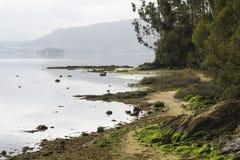Rias Baixas na Espanha de Galiza Foto de Stock Royalty Free
