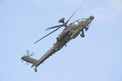 RIAT 2011 - AH-64D Apache Arkivbild